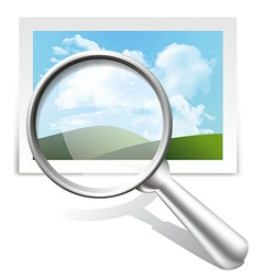Search image vector image