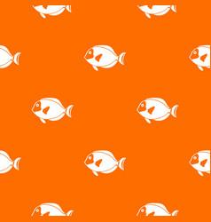 Surgeon fish pattern seamless vector