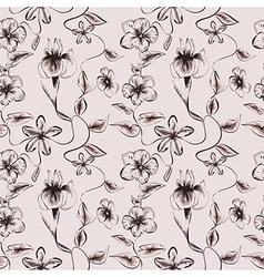 Wallpaper vintage pattern vector image vector image