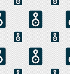 Video tape icon sign seamless pattern with vector