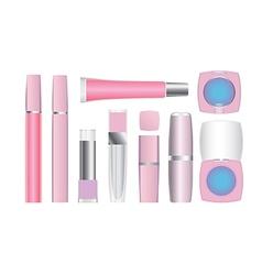 cosmetics set 2 vector image
