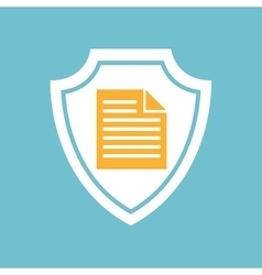 document file icon vector image