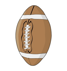 football ball vector image vector image