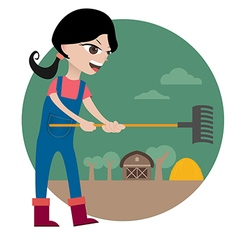 Farmgirl preview vector