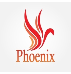 Phoenix bird stock vector