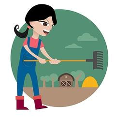 Farmgirl preview vector