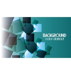 Multicolored background with abstract shapes vector image