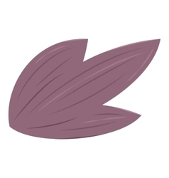 Wing icon cartoon style vector