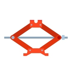 Car jack shot steel repair service vector