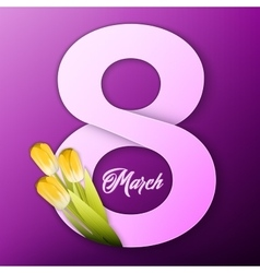 Womens day background vector