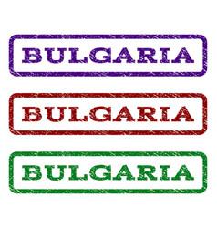 Bulgaria watermark stamp vector