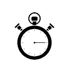 Pixel mechanical stopwatch vector