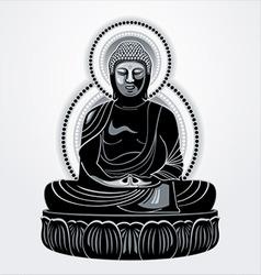 Buddha amitabha vector