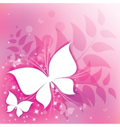 pink abstract vector image