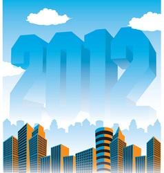 2012 cityscape vector