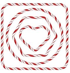 Candy frames vector