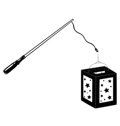 Lantern vector image vector image