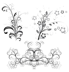 Ornate patterns vector