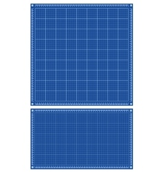 Blueprint backgrounds vector image
