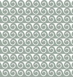Abstract seamless pattern with stylized waves vector image vector image