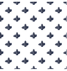 bullets pattern seamless vector image vector image