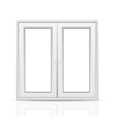 Closed window vector image vector image