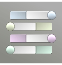 Color Switches vector image