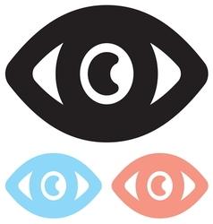 Eye icon1 vector