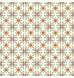 seamless floral islamic pattern vector image