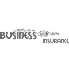 Why is business insurance important text word vector
