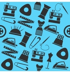 Sewing color pattern vector image