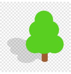 tree isometric icon vector image