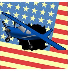 American plane vector
