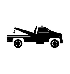 breakdown truck vector image