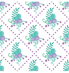 cute seamless pattern with hand-drawn vector image vector image