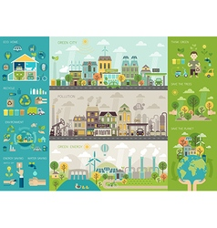 infoeco vector image vector image