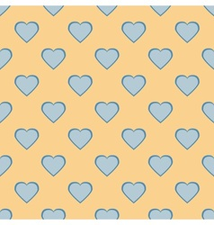 Pretty pastel heart vector