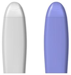 Shower gel vector image vector image