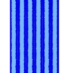 Pattern of blue and light blue grunge stripes vector image