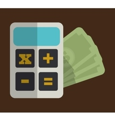 Money economy related icons image vector