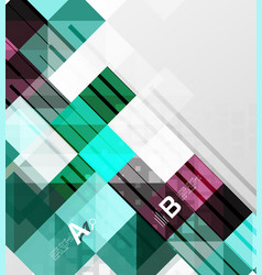 Modern geometrical square banner minimalistic vector