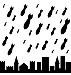 military rain vector image