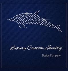 Diamond branding identity vector