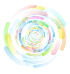 Colored circles vector image