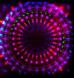 disco night banner1 vector image