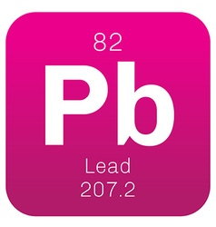 Lead chemical element vector