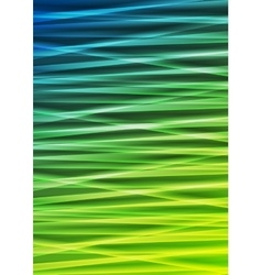 Abstract corporate green blue stripes background vector image