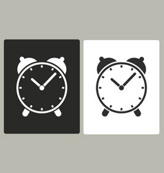 Clock - icon vector