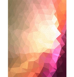 Pink triangle cave with line texture vector
