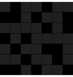 Black squares background vector